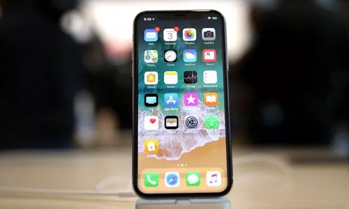 Iphone x software