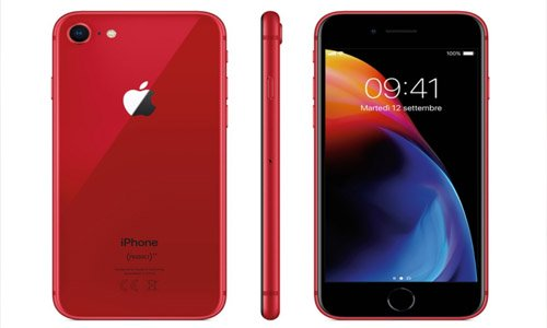 iphone 8 rood