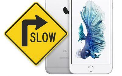Apple heeft bevestigd dat het oude iPhones vertraagd