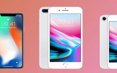 Wat is nou het verschil tussen de Iphone 8 en de Iphone X?