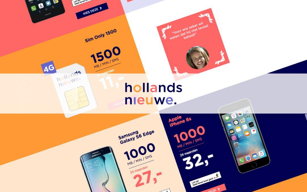 Hollands Nieuwe verandert tarieven en rekent weer aansluitkosten