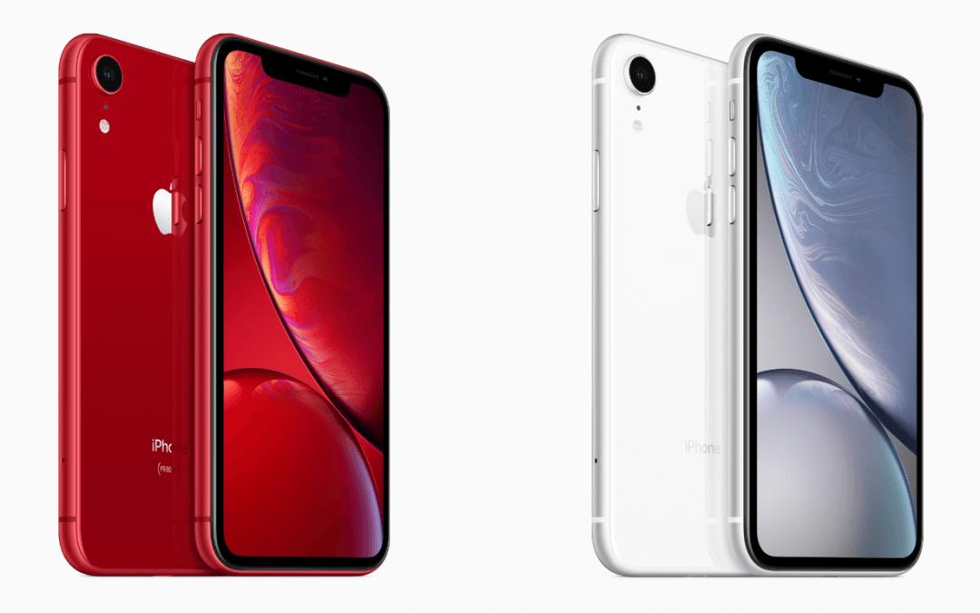 De release van de Apple iPhone XS